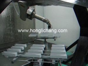 Car Spare Parts Spray Painting Plant pictures & photos