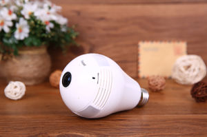 960p/1.3MP Home 360 Degree Two-Way Talk Security Light Bulb IP Camera pictures & photos