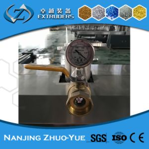 Zte High Quality Recycling Plastic Granules Twin Screw Extruder pictures & photos