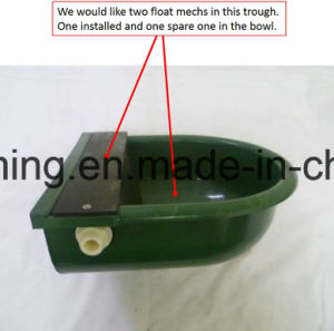 Livestock Dairy Farm Plastic Cattle Water Trough pictures & photos