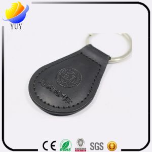 Leather Key Chain with Logo pictures & photos
