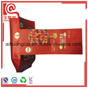 Quad Seal Gusset Printing Plastic Bag for Dried Nuts pictures & photos