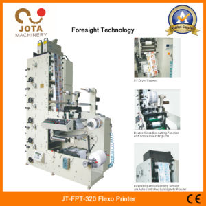 High Speed Adhesive Sticker Printing Machine Thermal Paper Flexible Printing Machine Label Printer pictures & photos