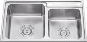 L5602 S. S Stretching Double Bowl Sink pictures & photos