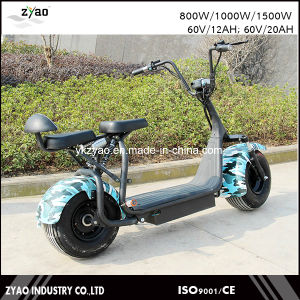 2017 Fashion New Design Two Big Wheel Electric Scooter City Coco pictures & photos