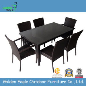 Cane Furniture, Dining Table, Outdoor Furniture (FP0032) pictures & photos