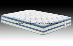Euro Top Pocket Spring Natural Latex Foam Mattress pictures & photos