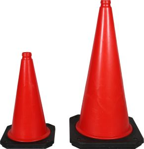 Stable Heavior Base 500mm PE Two Size Traffic Cone pictures & photos
