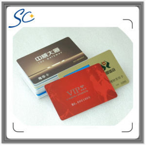 Printing Plastic PVC Loyalty Card with Barcode