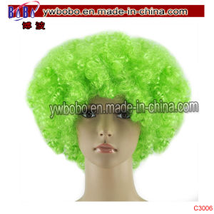 Christmas Gift Cosplay Costume Hair Afro Wig Party Supply (C3006) pictures & photos