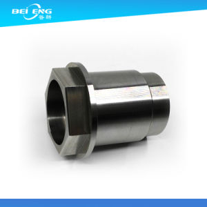 Black Anodized Treatment Hollow Aluminum Tube CNC Machine Fabricated Aluminum Parts pictures & photos