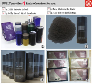 Customize Own Brand Keratin Hair Fibers with Hair Spray Applicator (S03) pictures & photos