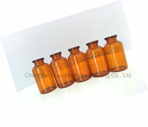 20ml Neutral Amber Glass Vial for Pharmaceutical Packaging pictures & photos