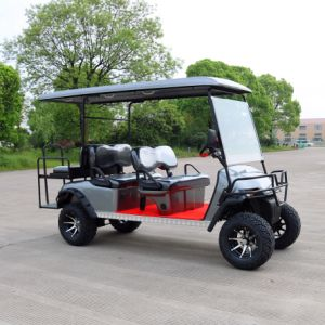 Ce Certificated 6 Passenger off Road Electric Golf Cart pictures & photos