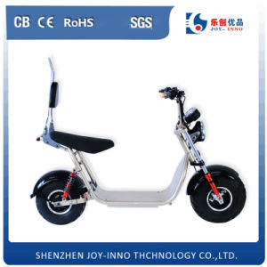 800W Power Motor Harley Electric Scooter with Fat Tire Wheel pictures & photos