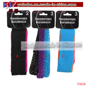Hair Weaving Elastic Head Bands Girls School Sports Gym (P3024) pictures & photos