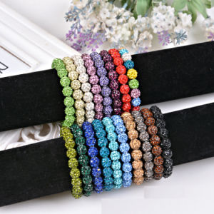 Fashion Rhinestone Ball Shambhala DIY Beads Bracelet Jewelry pictures & photos