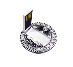 USB2.0 Pen Drive Credit Card Shape Logo Customized pictures & photos