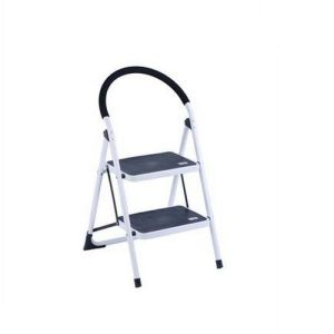 Portable 2 Step Attic Steel Ladder pictures & photos