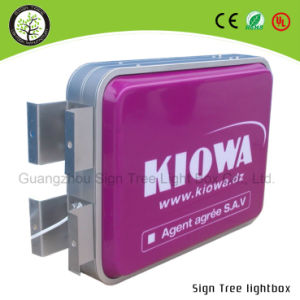 Outdoor Double Side Aluminum Advertising LED Light Box pictures & photos