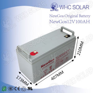 Deep Cycle Solar Battery 12V100ah Lead Acid Battery pictures & photos
