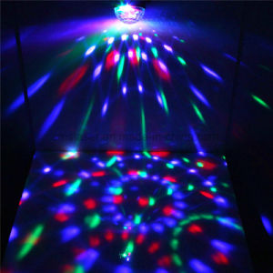 Mini LED Disco Light RGB 3W LED Mini Magic Ball Party Light Manufacturer pictures & photos
