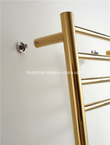 Lordliness High Safety Stainless Steel Golden Towel Radiator (9006) pictures & photos