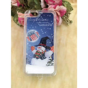 Full Soft TPU Liquid Quicksand Christmas Mobile Phone Shell/Cases