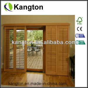 Bi-Fold Wooden Shutter Door (louver door) pictures & photos