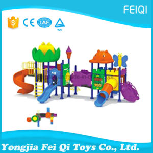 Best Choice Factory Price Plastic Slide Swing Set Nature Series (FQ-YQ06902) pictures & photos