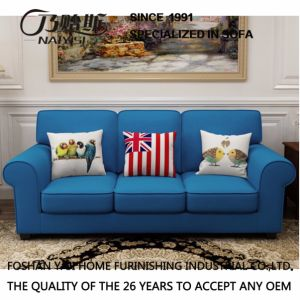 American Country Style Leisure Fabric Sofa for Home Furniture M3003 pictures & photos