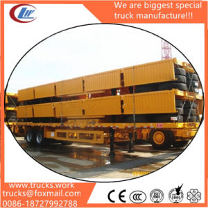 3 Axles 12wheels Fence Stake Side Wall Cargo Trailer Sales pictures & photos