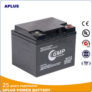 European Market Emergncy Power Solar Battery 12V38ah with Round Terminal pictures & photos