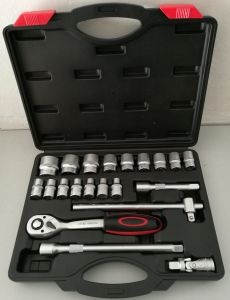 "Hot Selling 21PCS -1/2""Dr Socket Tool Set (FY1421B) pictures & photos"