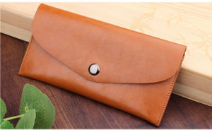 Hot Selling Many Color Available Wallet Flip Leather Mobile Phone Case for Apple iPhone 5 5s 6 6s 7 7 Plus pictures & photos