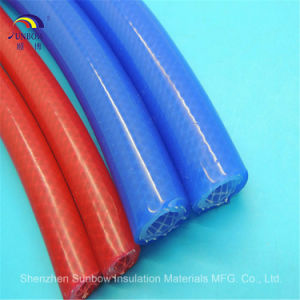 Reinforced Silicone Rubber Tube with Polyester Yarn for Coffee Machines pictures & photos