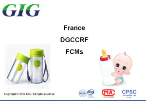 French Food Contact Material Drccrf BPA Testing Service pictures & photos