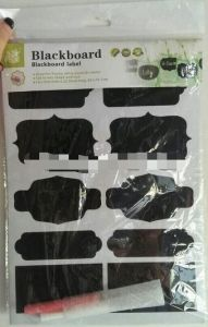 Blackboard Wall Sticker, Blackboard Label Sticker pictures & photos