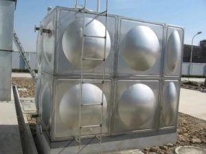 500 Cubic Meter Pressed Stainless Steel Assembled Ss Water Tank