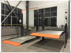 Ce Hydraulic Two Psot Vehicle Parking pictures & photos