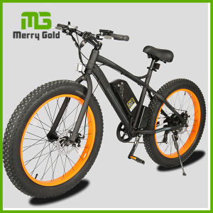 "Adult 26""*4.0 Inch Fat Tire Electric Mountain Bikes for Sale pictures & photos"