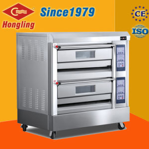 Professional Bakery Machine Double Gas Oven for Bread pictures & photos