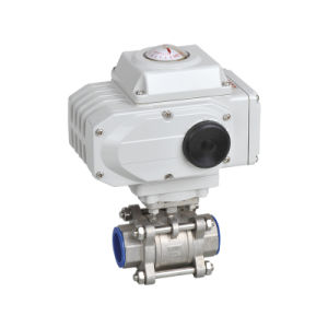 High Quality Cheap Electric 2PC Ball Valve pictures & photos
