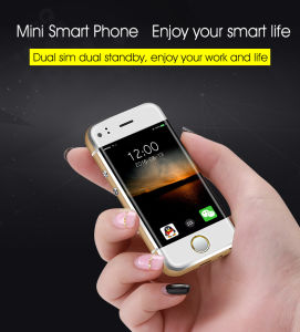 Hot Sale 6s Mini Android Smart Mobile Phone Dual Core Dual SIM Card Phone pictures & photos