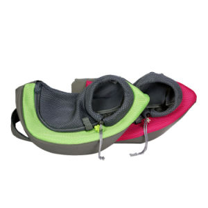 Pet Dog Cat Kitty Carry Carrier Outdoor Travel Oxford Single Shoulder Bag Sling Esg10040 pictures & photos
