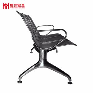 Low-Priced Durable Public Stainless Steel Seating Bench Hospital Waiting Chair High Back Airport Waiting Chair pictures & photos