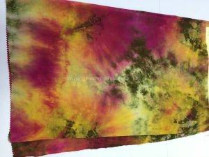 Textile Rayon Tie Dye Garment Fabric pictures & photos