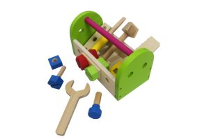 DIY 13PCS Wooden Tool Box Set Toy for Kids and Children pictures & photos