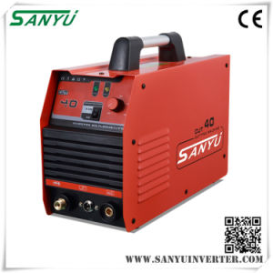 Sanyu 2016 New Series Inverter Iron Body Plasma Cutting Machines Cut-40 IGBT pictures & photos