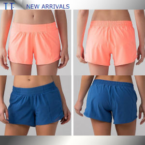 Compression Material High Waist Yoga Sports Shorts Wholesale pictures & photos
